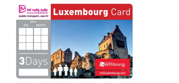 LuxembourgCard ©LFT