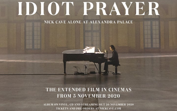 Idiot Prayer - Nick Cave at Alexandra Palace - IMG 1