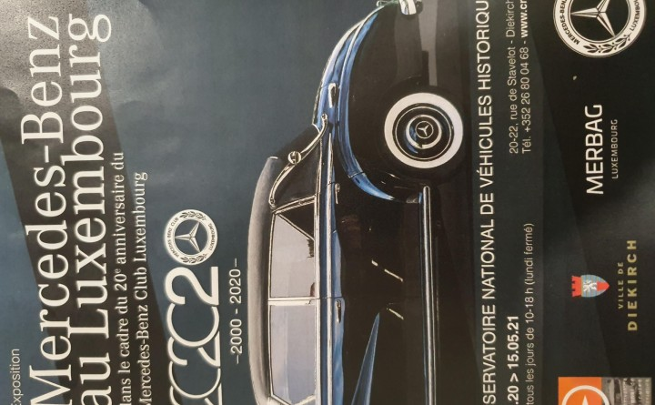 Exposition : Mercedes-Benz au Luxembourg - IMG 1